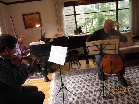 Rehearsing in Seattle